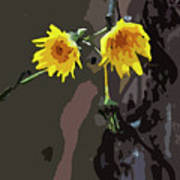 Seasons Ending Art Print