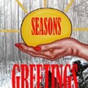 Seasons Greetings 31 Art Print