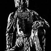 Seated Buddha Art Print