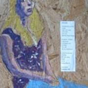 Seated Girl Art Print