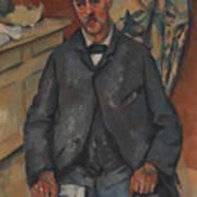 Seated Man  Art Print