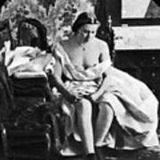 Seated Nude, C1861 Art Print