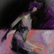 Seated Nude IIi Art Print