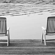 Seating For Two Art Print