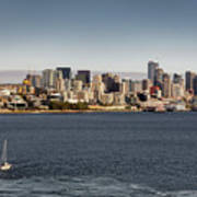 Seattle By Sea Art Print