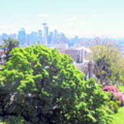 Seattle From A Hill Art Print