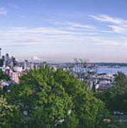 Seattle Panorama Art Print