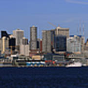 Seattle Panoramic Art Print