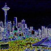 Seattle Quintessence Art Print