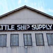 Seattle Ship Supply 2 Art Print