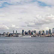Seattle Skyline 1 Art Print