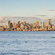 Seattle Skyline 2 Art Print