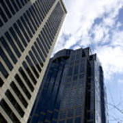 Seattle Skyscrapers Art Print