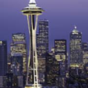 Seattle Space Needle 0200 Art Print