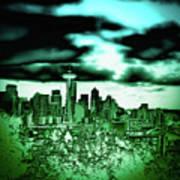 Seattle - The Emerald City Art Print