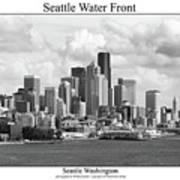 Seattle Water Front Art Print