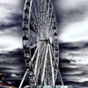 Seattle's Great Wheel Art Print