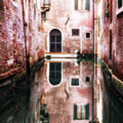Secluded Venice Art Print