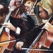 Second Cellos Art Print