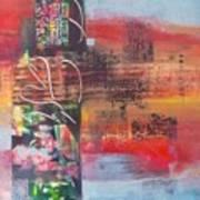 Secrate Strata Art Print