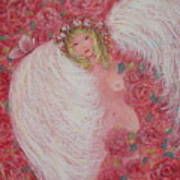 Secret Garden Angel 6 Art Print