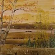Secret Lake Art Print