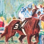 Secretariat 1973 Art Print