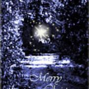Secrets Christmas Card  Art Print
