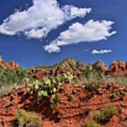 Sedona # 16 - Red Rocks Art Print