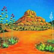 Sedona Bell Rock Art Print