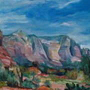 Sedona II Art Print