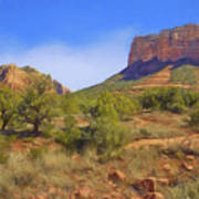 Sedona Landscape - 1 - Arizona Art Print