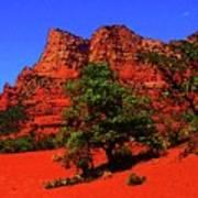 Sedona Red Rock Art Print