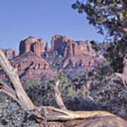Sedona Red Rocks Framed Art Print