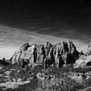 Sedona Reversed Art Print
