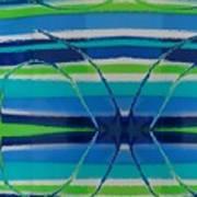 See Thru Blue Art Print