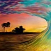 See Thru Wave Art Print