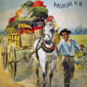 Seed Company Poster, C1880 Art Print
