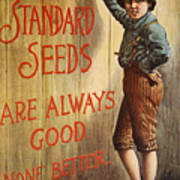 Seed Company Poster, C1890 Art Print