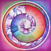 Seed Of Life - Mandala Of Divine Creation Art Print