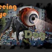 Seeing Eye Dog Art Print