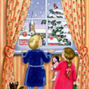 Seeing The Snow Art Print by Lavinia Hamer