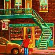 Segal's Fruit And Variety Store Art Print