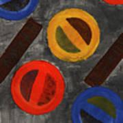 Segments 3 Art Print