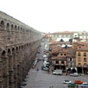 Segovia Aquaduct Art Print