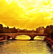 Seine View Art Print