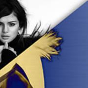Selena Gomez Collection Art Print
