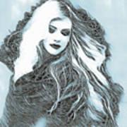 Selenium Blonde Art Print