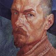 Self 2 1926-1927 Kuzma Sergeevich Petrov-vodkin Art Print