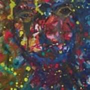 Self Imploded Art Print